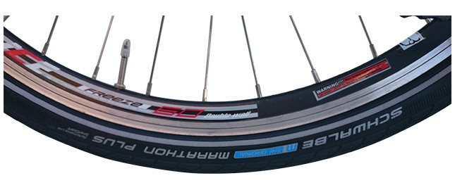 Schwable marathon plus tyre