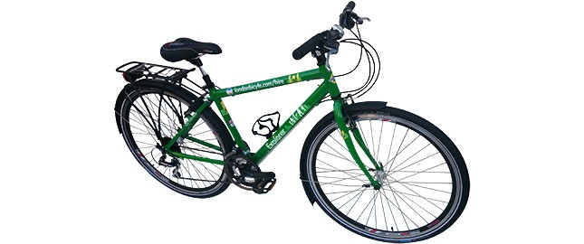 Touring male hybrid bike
