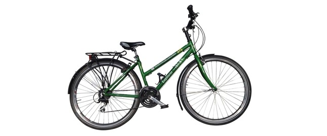 Touring male hybrid bike