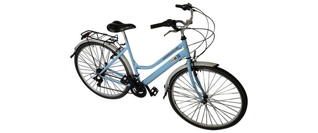 Traditional female bike