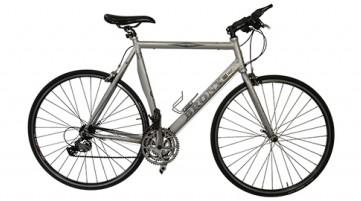 sports hybrid bicycle, aluminium