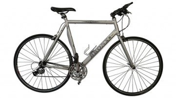 sports hybrid bicycle, aluminium