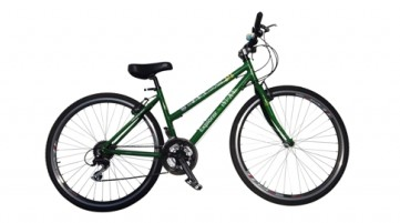 Hybrid Bicycle with Schwalbe kevlar belted tyres