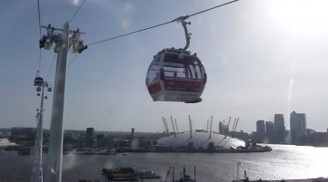 Take your bike in the Emirates Cable Car
