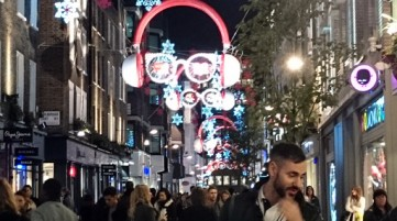Carnaby Street Christmas Shopping