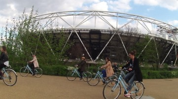 Olympic Stadium Guided Bike Ride